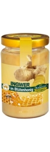 Ingwer in Blütenhonig 250ml