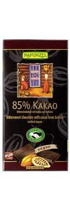 Bitterschokolade 85% Kakao Bio